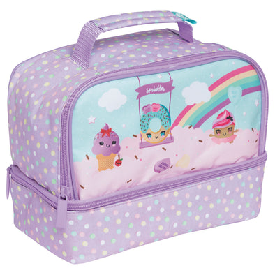 Spencil Insulated Lunch Box Twin Deck Everyday is Sundae