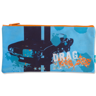 Spencil Rectangle Pencil Case 34 x 17 cm Drag Racer