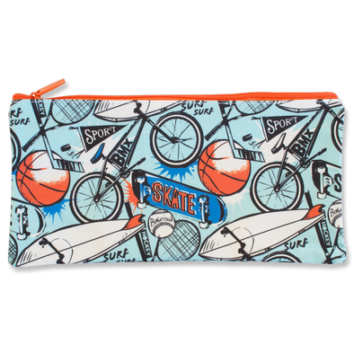 Spencil Rectangle Pencil Case 34 x 17 cm Sports Craze