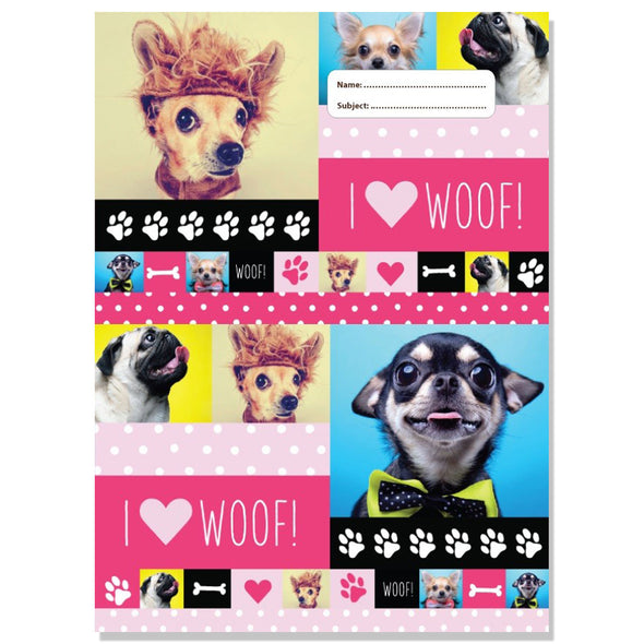 Scrapbook Cover Pack 3 Assorted 25 x 34 cm Woof