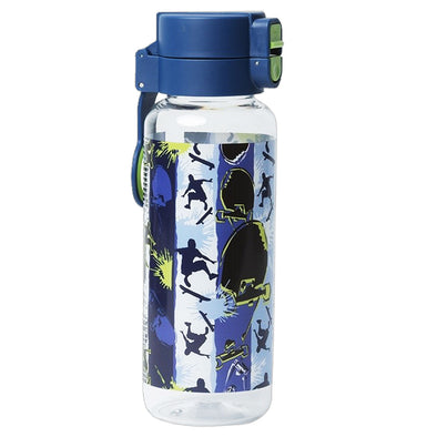 Spencil Spill-Proof Water Bottle 650 ml Skate Paint