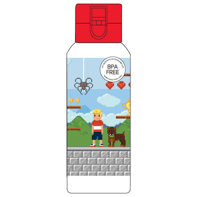 Spencil Spill-Proof Drink Bottle Pixel 650 ml