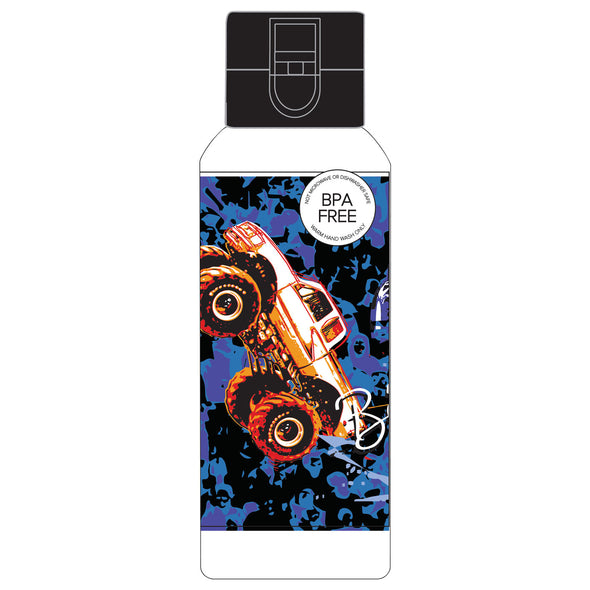 Spencil Spill-Proof Waterbottle 650 ml Big Wheelz - School Depot NZ