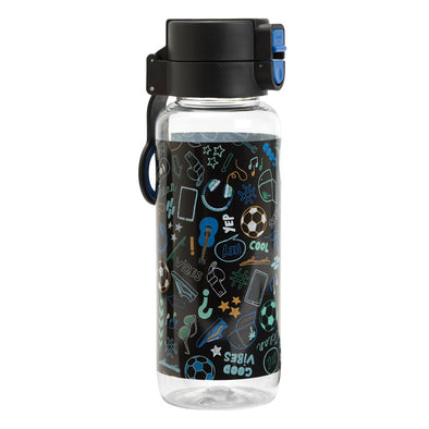 Spencil Spill-Proof Water Bottle 650 ml Good Vibes