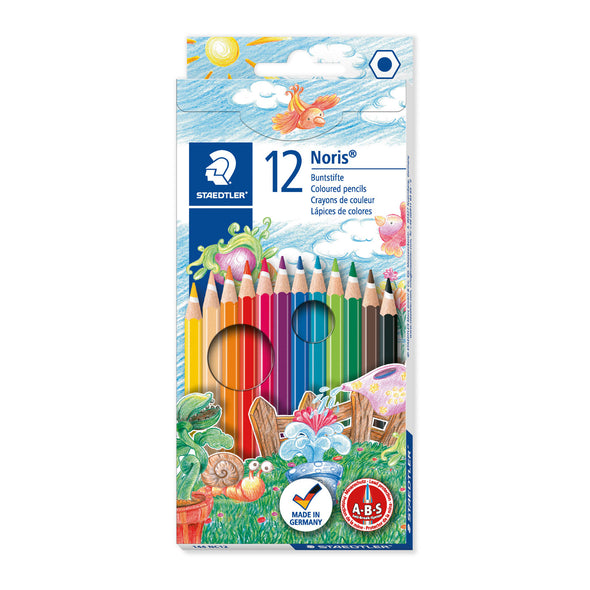 Staedtler Colouring Pencils Noris Club Full Length - 12 Pack