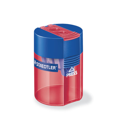 Staedtler Double Hole Tub Sharpener [Plastic]
