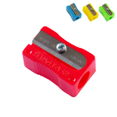 Staedtler Pencil Sharpener Single Hole Luna Plastic Assorted Colours
