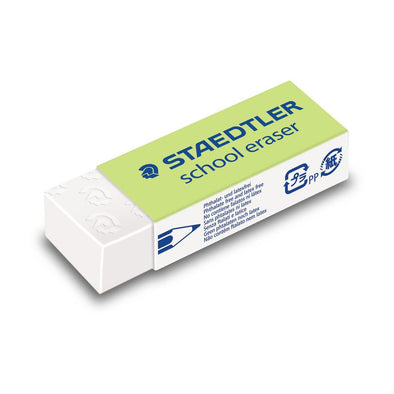 Staedtler School Eraser Plastic Large 65x23 mm
