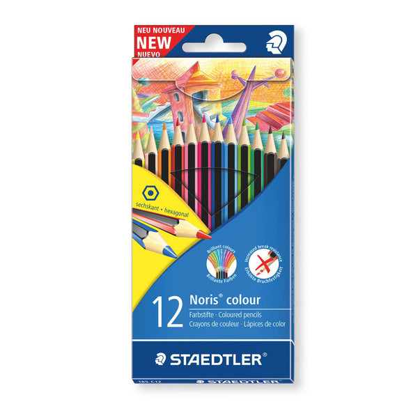 Staedtler WOPEX Colour Pencils Noris Club 12 Shades