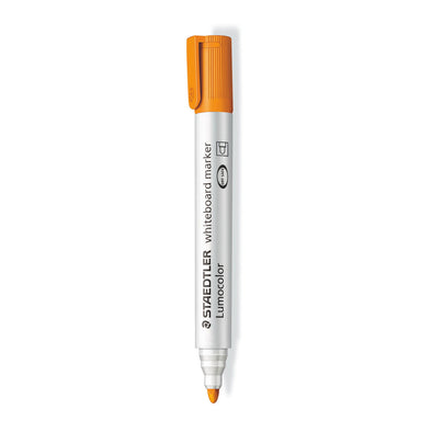 Staedtler Whiteboard Marker Bullet Tip - Orange - School Depot NZ