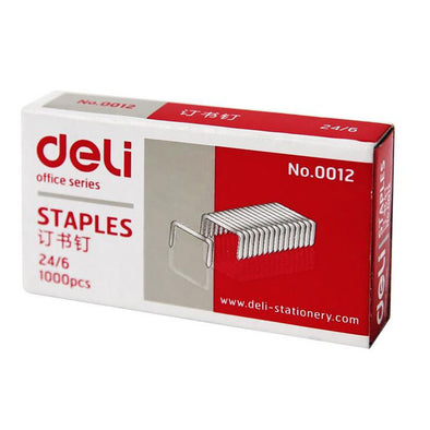 Deli Staples 24/6 Box of 1000