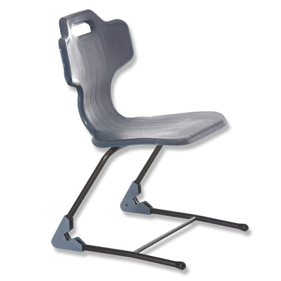 Classroom Chair student chair Grey Sled base e-chair