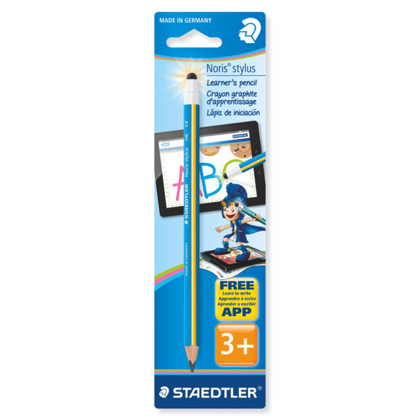 Staedtler Stylus Pencil HB - Blue / Yellow - School Depot NZ