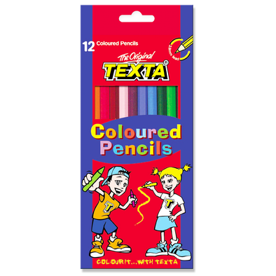 Texta Coloured Pencils 12 Pack