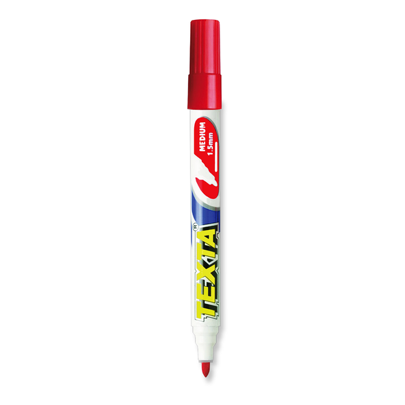 Texta Whiteboard Marker Bullet Tip Red
