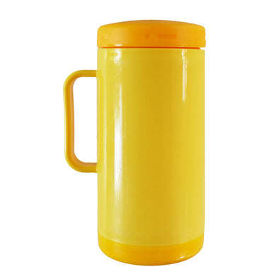 Thermos mug with screw on cap