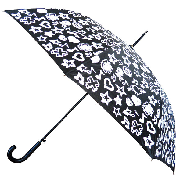 Auto Open Umbrella with Magical Print