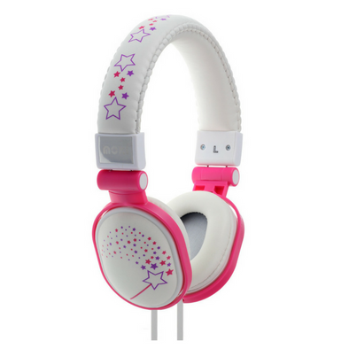 Moki Headphones Popper - Sparkles White - School Depot NZ  - 2