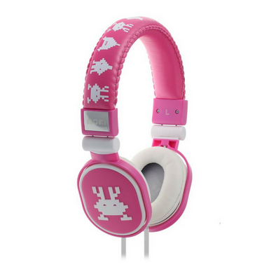 Moki Headphones Popper - Martian Pink - School Depot NZ