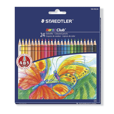 Staedtler Colouring Pencils Full Length - 24 Pack - School Depot NZ