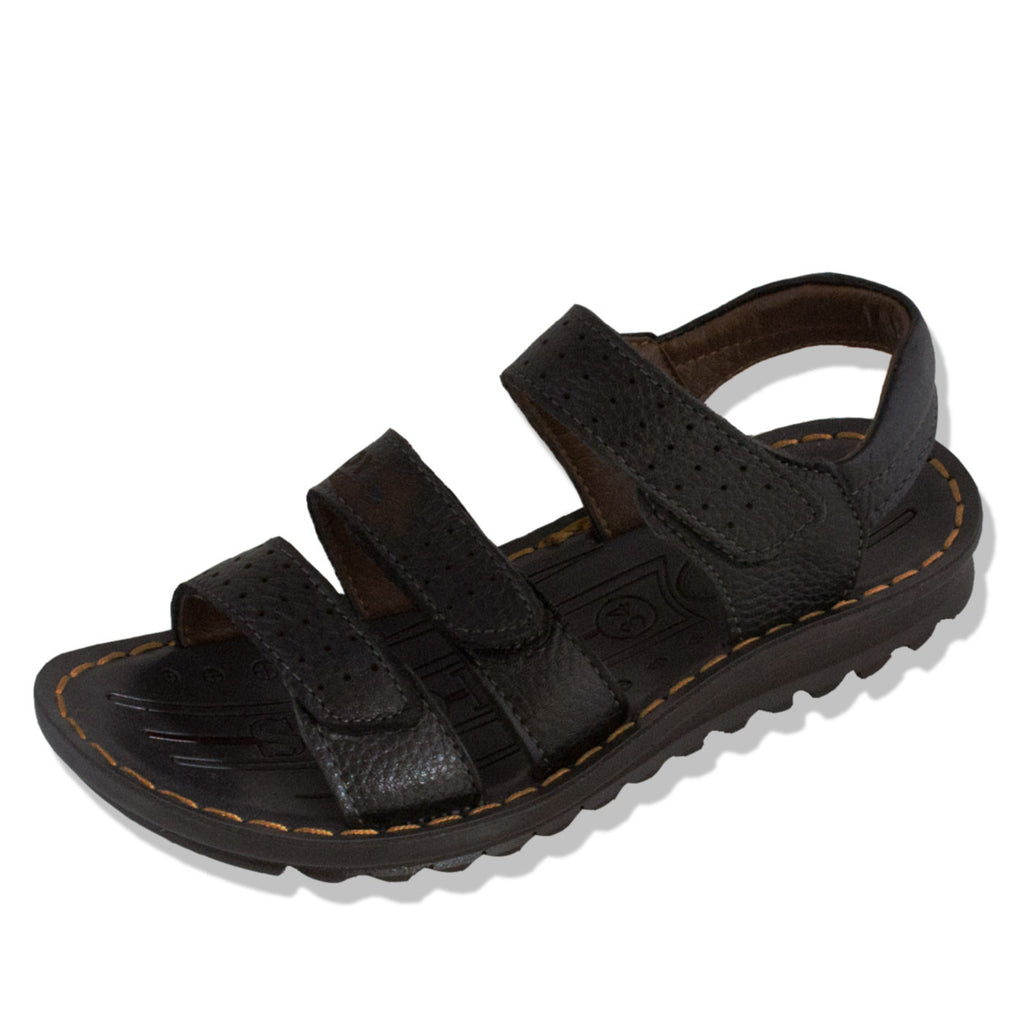 Brown leather sandals nz