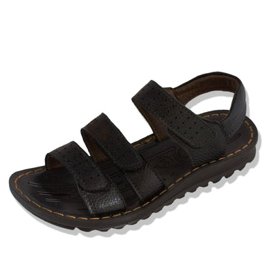 Junior - Leather School Sandals - School Depot NZ  - 1