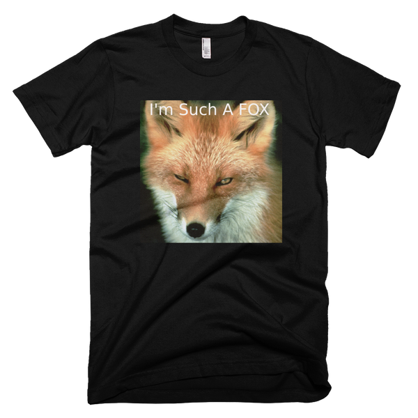 What a Fox t-shirt - FlyTees