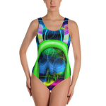 Music One-Piece Swimsuit