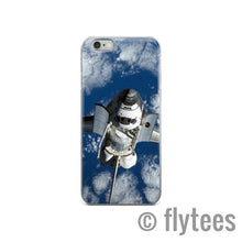 Load image into Gallery viewer, Shuttle in Orbit iPhone case  - FlyTees