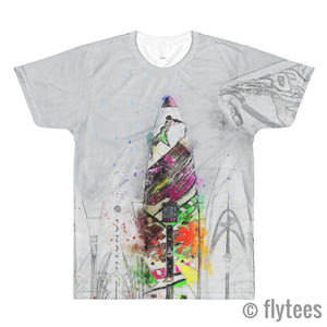 Surfs Up 3 Ladies Crop Top  - FlyTees