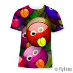 The Rasberry Sublimation T-Shirt - FlyTees