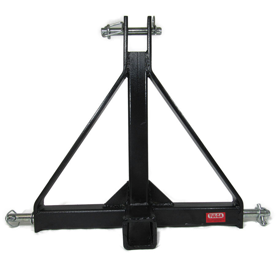"3 Point Tractor Hitch Drawbar Adapter for 2"" Trailer Hitch for Sub-Compact, Compact Tractors"