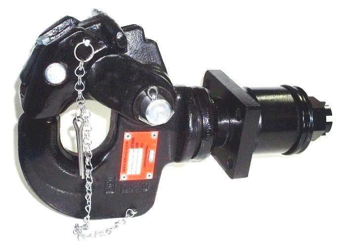Heavy Duty Pintle Hook Hitch Swivel Coupling TTH 65 Military Style