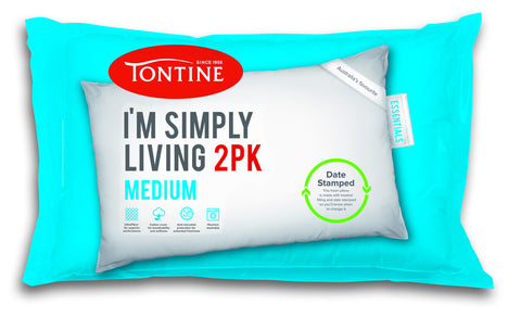 Tontine Simply 2 pk pillow