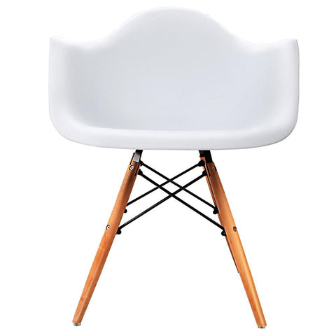 Set of 2 Replica Eames Cafe Chairs