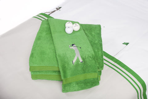 On the Green Towel