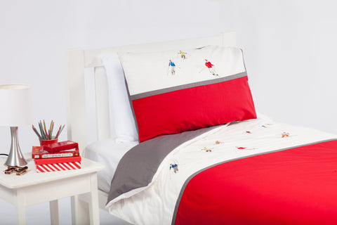 Piste Rouge Quilt Cover Set