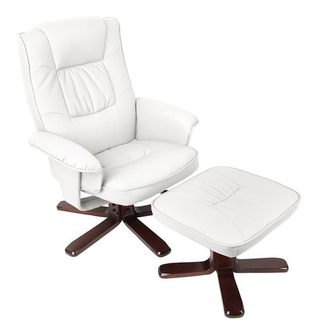 Lounge Recliner Chair with Ottoman