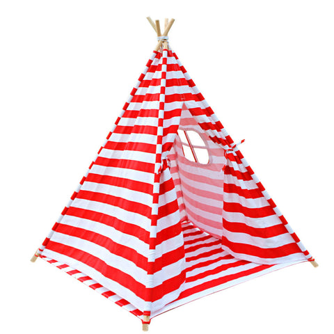 Kids Teepee Tent - Red