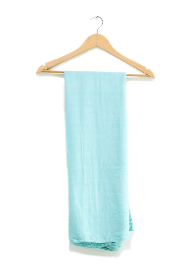 heybaby. Caribbean Bamboo swaddle wrap