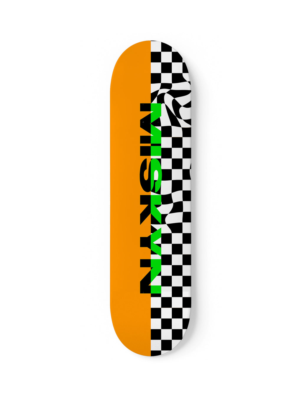 Warped Skateboard
