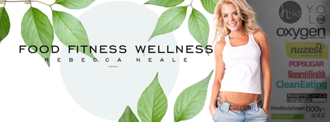 rebecca neale from food fitness wellness for orli natural and organic skincare and beauty co
