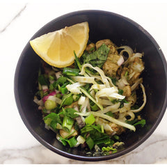 tangy and fresh green curry noodle recipe orli organic living natural skincare and beauty australia