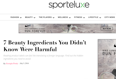 sportluxe orli 7 ingredients to avoid in skincare natural skincare australia