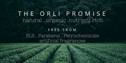 orli natural and organic skincare and beauty australia ingredients