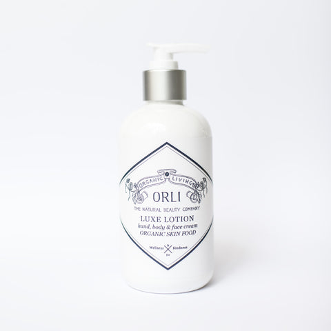 3) Organic Luxe Lotion