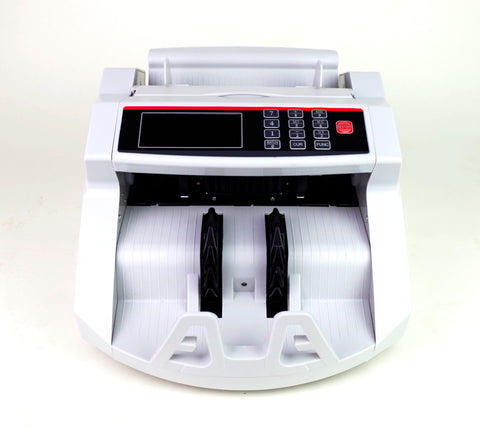 Bill Counter Money Counting Cash Machine Counterfeit Detector UV MG Bank LCD A+