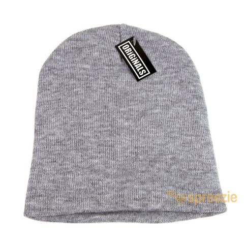 13cabf9a85b6bb ... Skull Cap Plain Beanie Knitted Ski Hat Skully Warm Winter Solid Colors  Headgear Originals ...