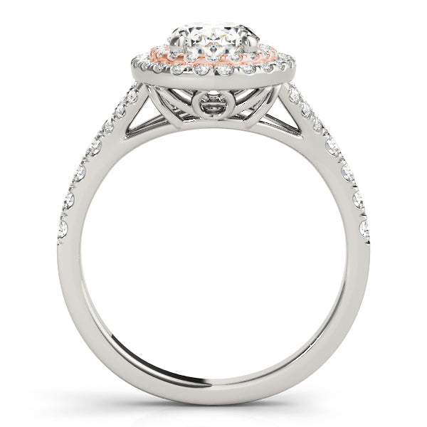 Double Halo Oval Engagement Ring Style LY71907 - Lyght Jewelers 10040 W Cheyenne Ave Ste 160 Las Vegas NV 89129