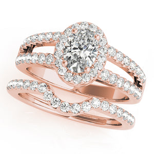 Halo Split Shank Engagement Ring Style LY71909 - Lyght Jewelers 10040 W Cheyenne Ave Ste 160 Las Vegas NV 89129